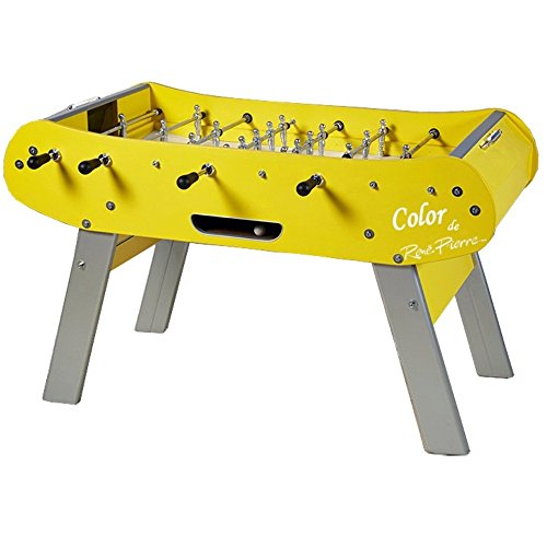 (René Pierre Foosball Table - Couleur Jaune)