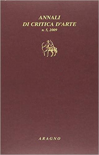 Book Annali di critica d'arte (2009) vol. 5