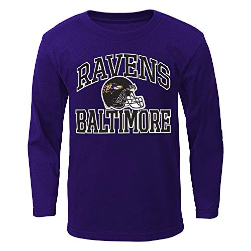 Outerstuff Baltimore Ravens NFL Toddler Purple Play Action Long Sleeve T-Shirt