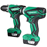 Metabo HPT Cordless Combo Kit, 12V Peak, Compact