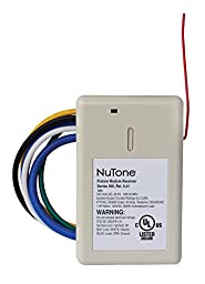 NuTone NFS20Z Smart Z-Wave Enabled Isolated Fixture Mounted Control, White