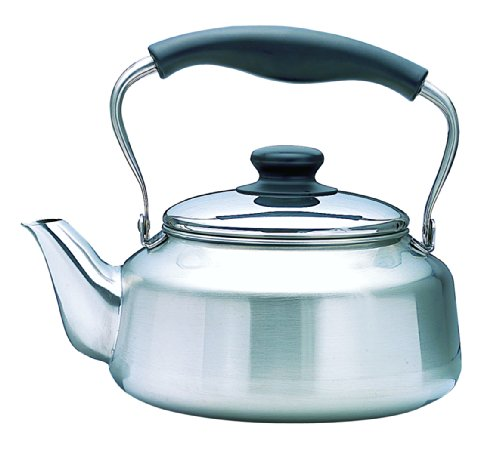 (Sori Yanagi Stainless Steel Kettle - Mirror)