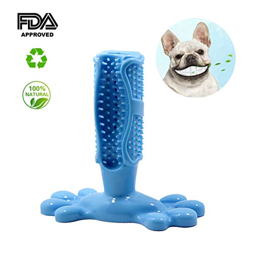 Basicon Dog Toothbrush Stick Dog Chew Toy Puppy Teeth Cleaner Dental Care Tool