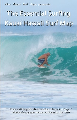 The Essential Surfing KAUAI HAWAII Surf Map