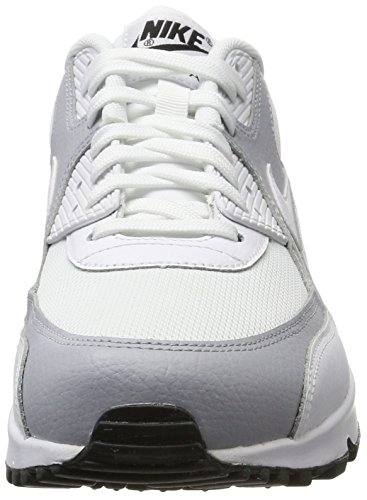 Shoes Max Bianco 90 Sneakers White Black Donna Corsa NIKE White 325213 Uomo Air Wmns Sport Grey 126 Scarpe wolf 8qxfWwpSH
