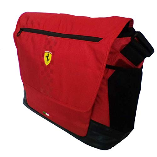 Homme Medium Rosso Ferrari Rouge Pour Pochette 7EBExv4
