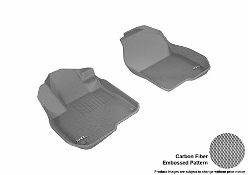 3D MAXpider L1HD08611501 Floor mat (Honda Cr-V 2017 Kagu Rubber Gray 1st Row)