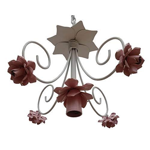 Lindo Lustre de Flores Simples Artesanal para Sala Moderna Preço de Fabrica