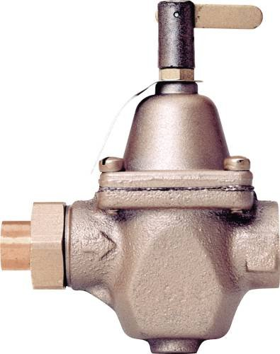 (Watts Water Technologies 386450 Feed Water Pressure Regulator 1/2 in Sweat, with)