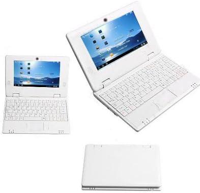7 Mini Laptop Netbook portátil EPC WM8850 1.2GHz Android 4.0 Ice Cream Sandwich WIFI frontal de la cámara 512MB 4GB HDMI con el teclado, reproductor ...