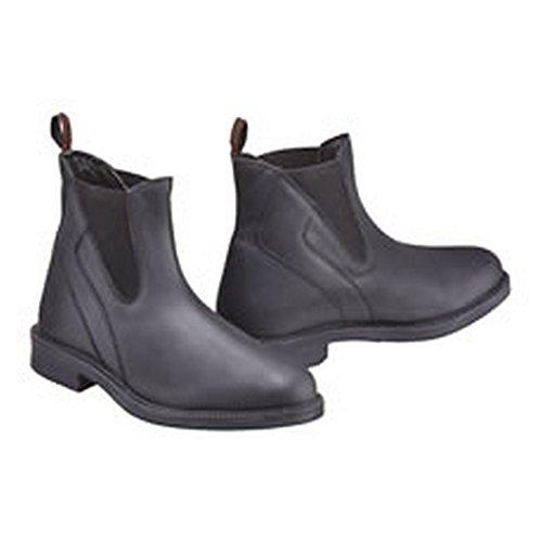 Harry Hall Adults Recife Leather Jodhpur Boots (8.5 US) (Black)