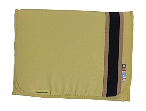 Pistachio Diaper Bag - gr8x Boutique and Deluxe Collection Changing Pad Wallet (Classic Pistachio)
