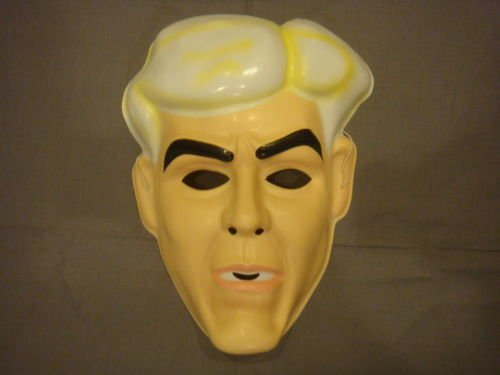 Ric Flair WCW WWE Wrestler PVC Mask Kid Size Rubies Halloween Dress Up -