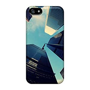 Hot New Big City Skyscrapers Case Cover For Iphone 5/5s With Perfect Design