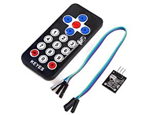 Arduino Infrared IR wireless remote control kit for Arduino / PIC / AVR by Hobby Components Ltd
