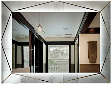 70 × 90 cm Espejo de baño Espejo con luz LED Espejo para baño colgado en la Pared: Amazon.es: Hogar