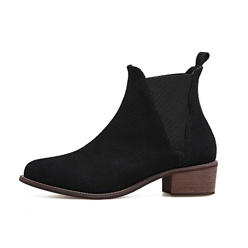 YC Hauts automne black Et Bottes ExtéRieur Bottes Femme Noir Brun à Fourrure Talons Hiver Chaussures L PdnFTxqtRP