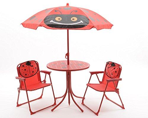 Kinder Gartenset Camping Gartenmöbel 2 Klappstühle 1 Tisch 1