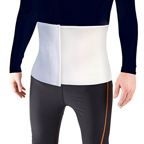 Post Operative Recovery - Most Comfortable Abdominal Binder, Additional Plush Foam Panel Added for Pleasant Wear, Post Pregnancy, Post-Operative and Abdominal Injuries Support, Small (30
