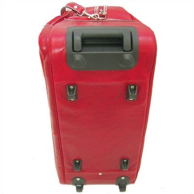 Floto Luggage Milano Italian Wheeled Trolley, Tuscan Red, Medium (Milano Trolley)