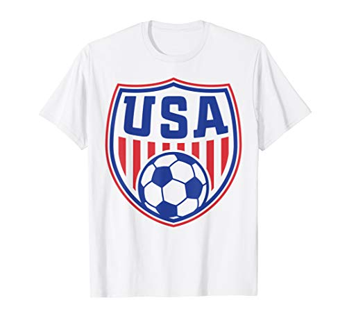 USA T-shirt | Cool USA Soccer Womens Mens Kids T-shirt (Team Usa Shop Com)