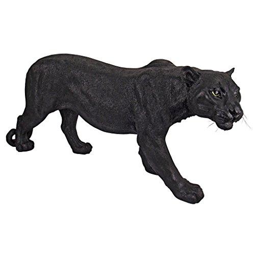 Cheap Design Toscano Shadowed Predator Black Panther Garden Statue, Large
