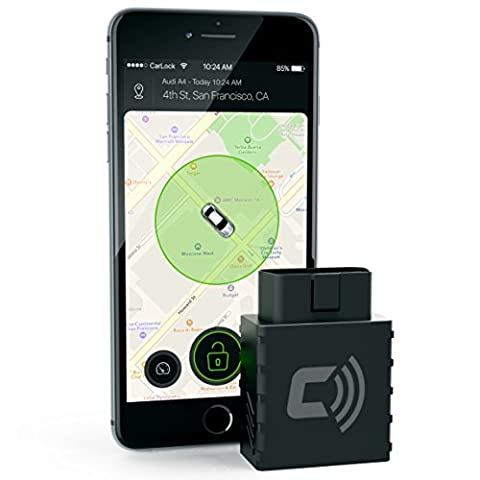 CARLOCK - Advanced Real Time Car Tracker & Alert System. Comes with Device & Phone App. Easily Tracks Your Car In Real Time & Notifies You Immediately of Suspicious Behavior. OBD (Cellular Car Alarm)