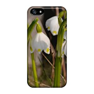 Durable Protector Cases Covers With Dorthea Lilies Hot Design For Iphone 5/5s