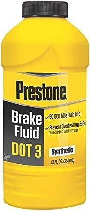 Fluido de freio sintético Prestone DOT 3