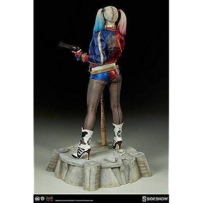DC Sideshow Suicide Squad Harley Quinn Premium Format Figure 300656: Toys & Games