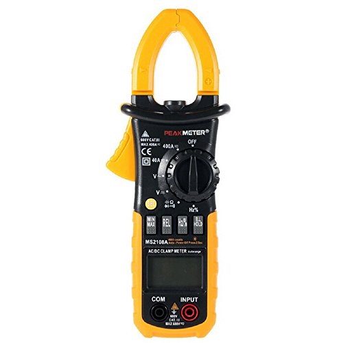 PEAKMETER MS2108A Auto Ranging AC/DC Mini Digital Clamp Meter