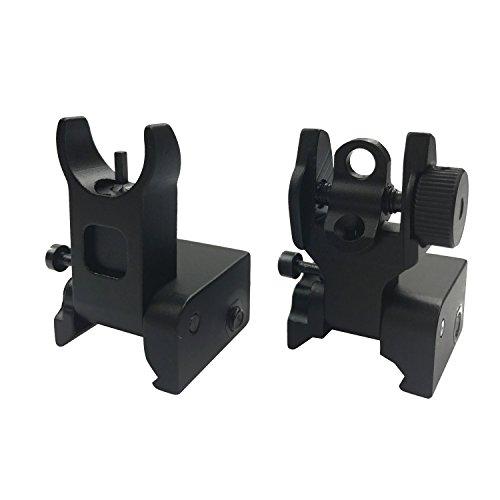A2 Rear Sight (Marmot Flip Up Iron Sights A2 Front Sight & Rear Sight for Gun Rifle Handgun)