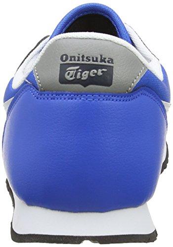 Azul 4201 Mid Blue Racer Temp Unisex White Deporte de Onitsuka Tiger Zapatillas 7q6P701
