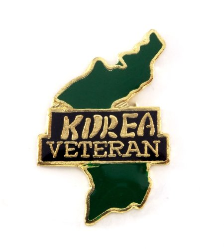 Korea Veteran Lapel Hat Pin Military Marines Army Air Force Navy Vets PPM743 (Usa Korea Lapel Pin)