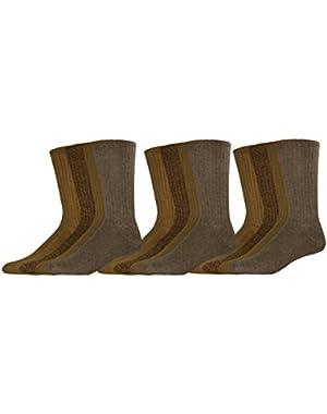 Men's Docker's Cushion Comfort Sport Crew Socks, 15 Pair
