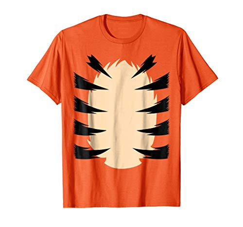 Orange Tiger Costume for Kids DIY Halloween Costume TShirt