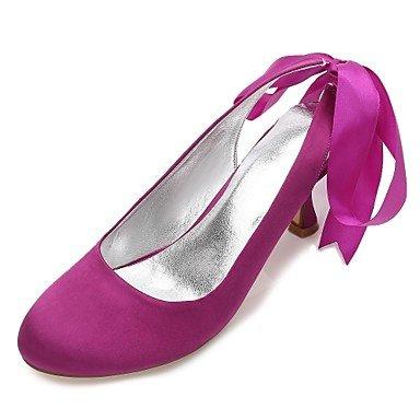 Rhinestone RTRY Confort Primavera Verano amp;Amp; CN35 Shoes Noche EU36 Boda Bowknot Azul Champán 5 5 De Rubí UK3 Heelivory US5 Plana Satin Mujeres'S Wedding Vestido Las rY7wqIrO