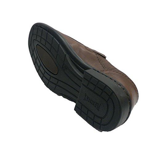 en Fleximax Zapato Hombre Pala Lisa marrón con OnO7FqxC