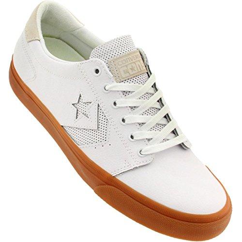 Converse cuero Ka3 Ox-top zapatos del patín