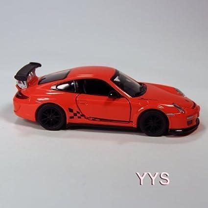 Amazon.com: Porsche 911 GT3 RS Die Cast 1:36 Scale - Orange: Toys ...