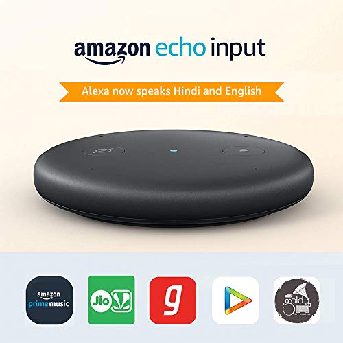 Echo Input, Certified Refurbished – Upgrade your speaker to a smart speaker – Like new, backed with 1-year warranty