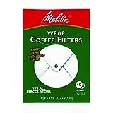 Melitta USA Inc 627402 White Wrap Coffee Filter