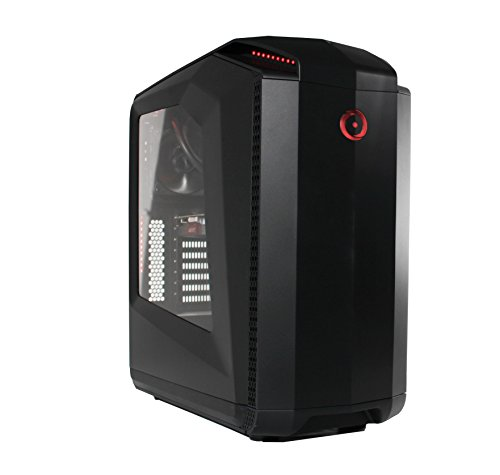 Origin PC MILLENNIUM BLK I5 6402P 1050TI 8GB LC Tower Desktop, Black