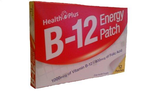 La vitamine B12 Patch MÉTHYLCOBALAMINE (Boîte de 12 patchs)