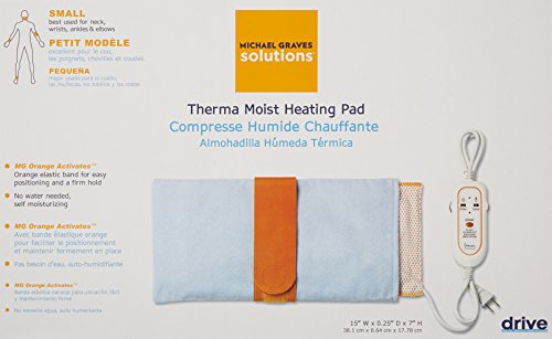 "Drive Therma Moist Michael Heating Pad, Petite 7"" 15"""