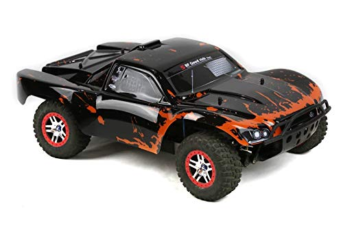 SummitLink Compatible Custom Body Muddy Orange Over Black Replacement for 1/10 Scale RC Car or Truck (Truck not Included) SS-BR-02