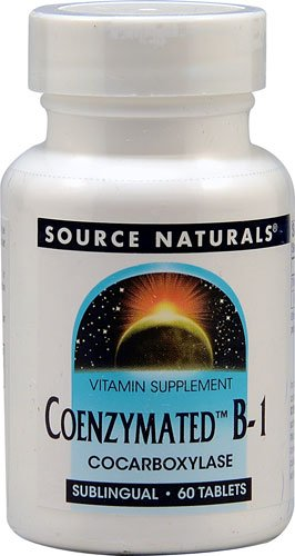 Source Naturals CoenzymatedT B-1 -- 60 Sublingual Tablets - 3PC by Source Naturals