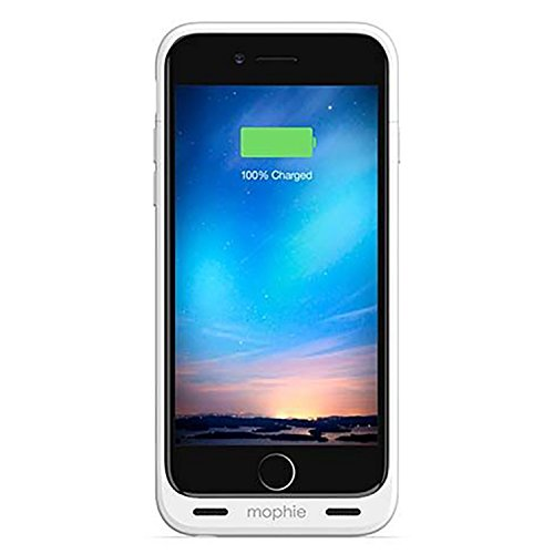 mophie 2,000mAh Juice Pack 'Plus' Battery Case for Apple iPhone 4/4s - White (Certified Refurbished)