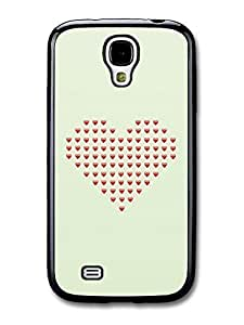 Cool Emoji Love Heart Collage Shape case for Samsung Galaxy S4