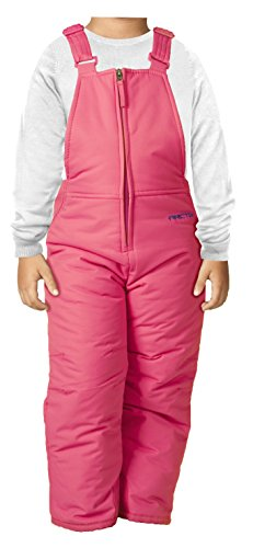 r Insulated Snow Bib Overalls,Fuchsia,3T ()